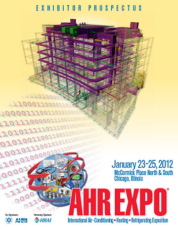 Exhibitor prospectus for the AHR Expo in Chicago.