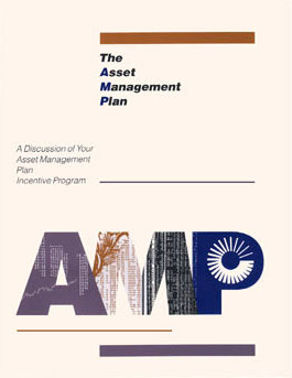 Asset management plan brochure for executives at United Technologies.