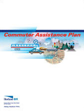 Commuter benefits plan for a medical insurance company.