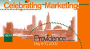 Direct mail marketing brochure for the SMPS (Society for Marketing Professional Services).