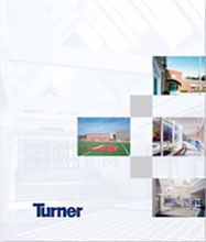 Presentation/proposal covers for Turner Construction Company.