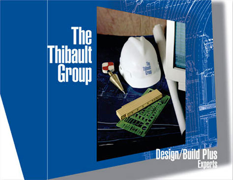 Credentials brochure for a construction consultant.