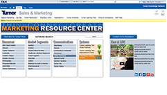 Sharepoint mini-website pages for an international construction company.